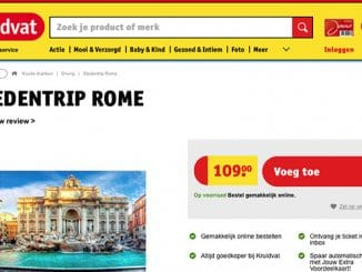 Kruidvat stedentrip naar Rome