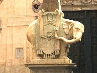 Olifantje van Bernini in Rome