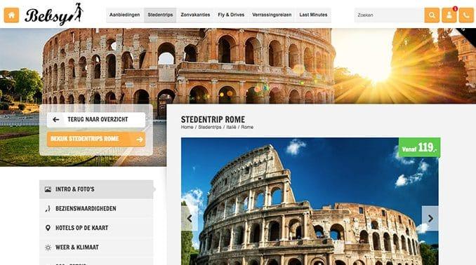 Stedentrip Bebsy Rome