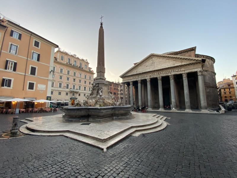 Piazza della Rotonda met Pantheon